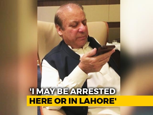 Video : Exclusive: Left With My Wife Unconscious, Says Nawaz Sharif In Abu Dhabi