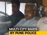 Video : Activist Varavara Rao Arrested Over Alleged Plot To Assassinate PM