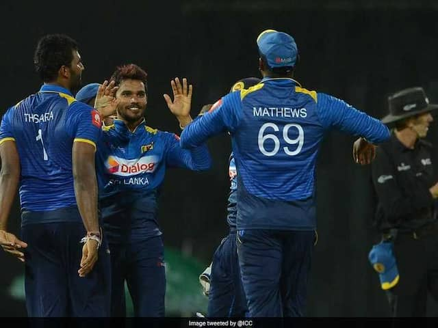 Sri Lanka Beat South Africa In Final ODI