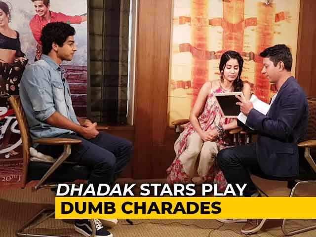 Janhvi Kapoor And Ishaan Khatter Play Dumb Charades