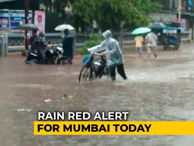 Video : Non-Stop Rain In Mumbai, Dabbawallahs Cancel Services Today