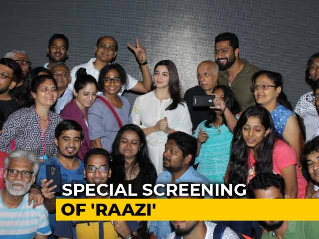 Alia Bhatt & Vicky Kaushal Host A Special Screening Of Raazi