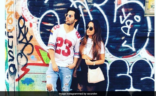 Varun Dhawan Posts Pic With Rumoured Girlfriend Natasha Dalal With An Interesting Caption