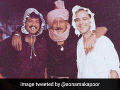 Bet You've Never Seen Anil Kapoor And <I>Parinda</i> Company Look Like This Before