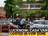 Video : In Lucknow VVIP Zone, Cash Van Guard Shot Dead, Rs. 7 Lakh Looted
