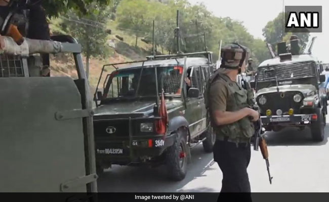 Terrorists Attack Team Of Security Forces In Jammu And Kashmir's Anantnag