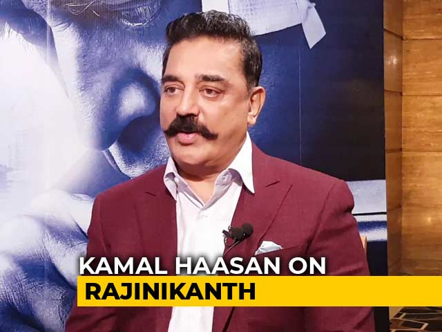 Video : Kamal Haasan On Possibility Of Working With Rajinikanth In Politics