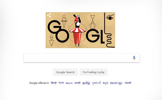 Google Celebrates Birthday Of German Artist Oskar Schlemmer With A Doodle