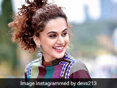 Taapsee Pannu Rocks Two Peplum Tops, One After The Other