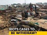 Video : Riot-Accused UP Lawmaker Dismisses Officials' 'No' On Scrapping Cases