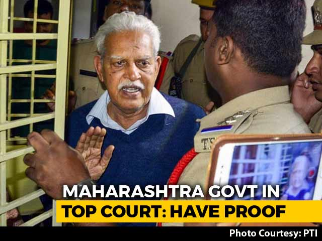 Video : Evidence, Not Dissent, Behind Activists' Arrests, Police Tells Top Court