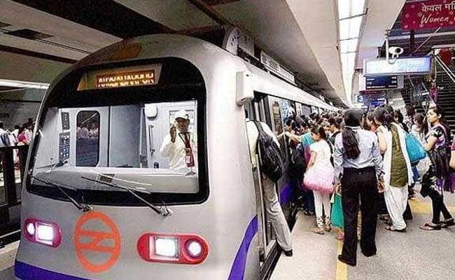 Exit Gates At 4 Delhi Metro Stations Shut As New Year's Crowd Swells