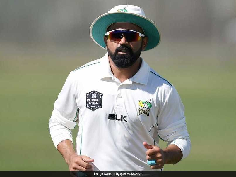Indian-Born Spinner Ajaz Patel In New Zealand Test Squad To Face Pakistan