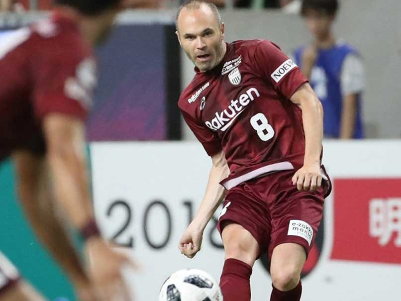 Iniesta has reportedly signed a three-year deal on a J-League record annual  salary of  30 million © AFP 90dbeed71f2