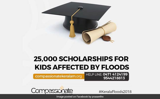 NGO Announces Scholarship Project For 25,000 Flood-Affected School Children
