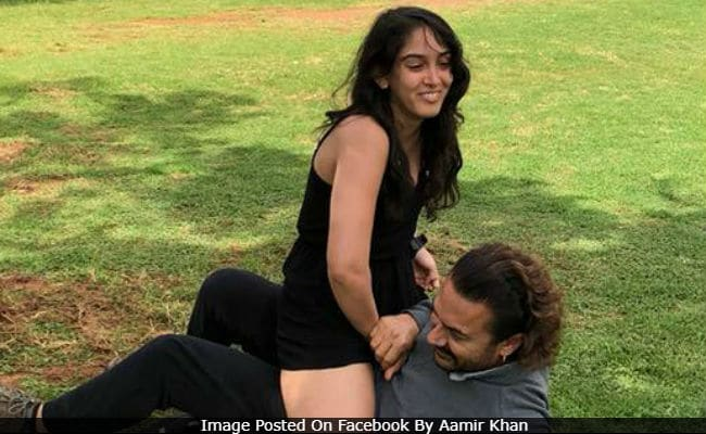 Aamir Khan's Pic With Daughter Ira 'Unacceptable,' Says The Internet. No Idea Why