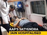 Video : AAP Minister On Fast Hospitalised, Delhi Impasse Continues