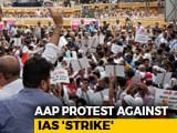 Video : AAP March To Prime Minister's House Stopped Midway By Cops