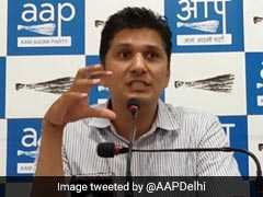 """Lord Ram Has Put Hanuman On Duty...."": AAP's Saurabh Bhardwaj Slams BJP"