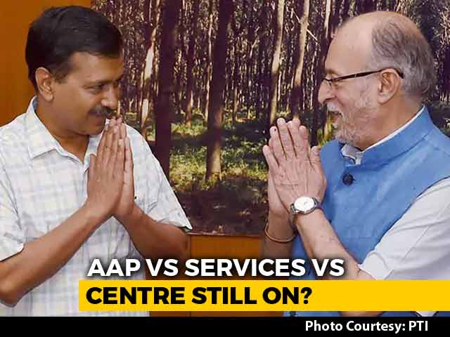 Video : And Repeat. AAP Government's First Order After Top Court Victory Rejected