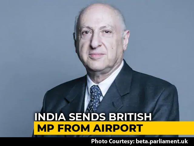 "Video : India Sends Back British MP From Airport Over ""Inappropriate Visa"""