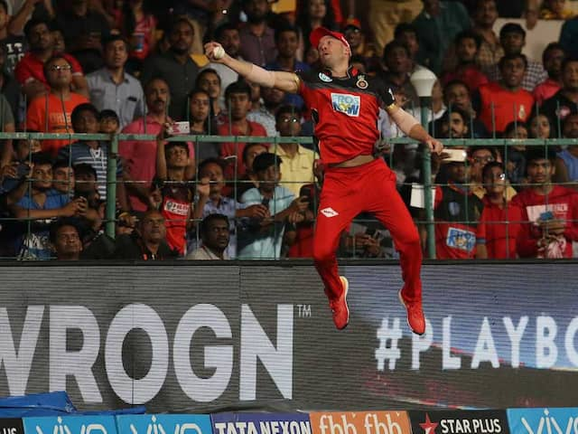 IPL 2018: AB De Villiers Just Took The Best Catch Youll Ever See