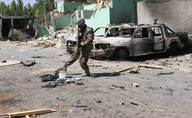5 Killed In Taliban Attack On Kabul As US Envoy Visits Afghan Capital