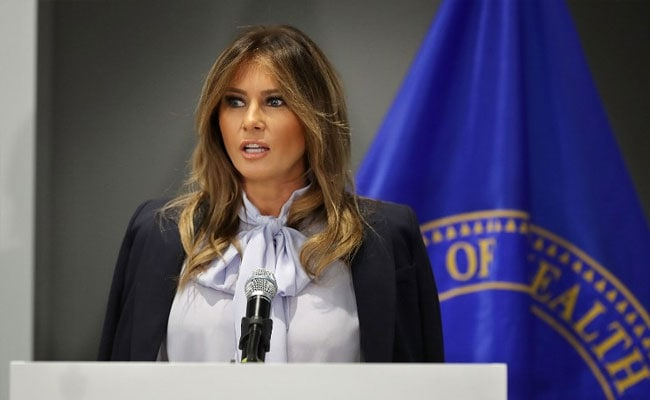 Melania Trump Says #MeToo Accusers Should Offer Hard Evidence