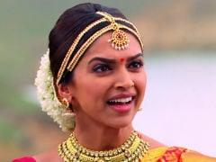 When Deepika Padukone Aka A 'Possessed Meenamma Took Over' <i>Chennai Express</i> Sets