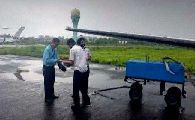 मुंबई में क्रैश चार्टर्ड प्लेन ट्रक से लाया गया था मुंबई, 9 साल में पहली बार निकला था टेस्ट उड़ान पर