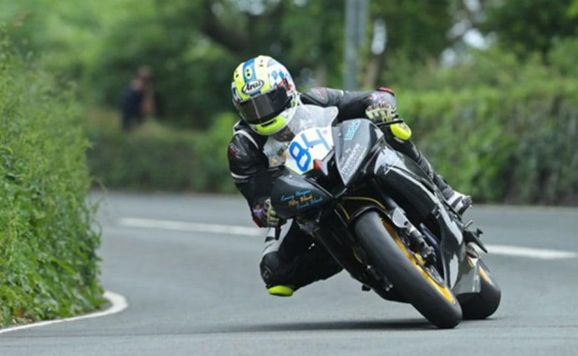 Duke of Cambridge tries out Isle of Man TT motorbike
