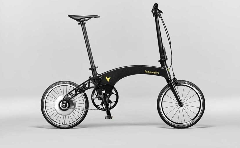 Hummingbird Launches The World's Lightest Electric Folding Bike