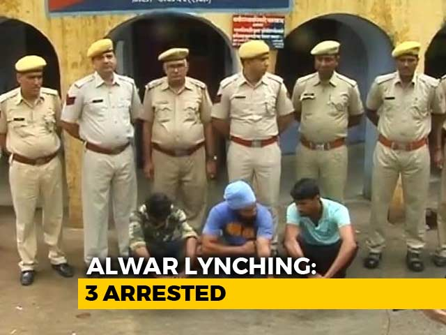 Video : 3 Arrested In Rajasthan's Alwar After Man Killed For 'Cow Smuggling'