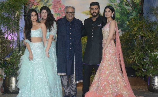 'Glad Janhvi, Khushi, Anshula And Arjun Have Come Together,' Says Dad Boney Kapoor
