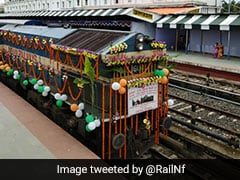 Agartala-Deoghar Express Flagged Off To Ease Journey Of Devotees
