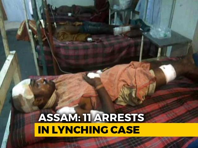 Video : 11 Arrested After Mob Attack Kills Man, Injures 3 In Assam