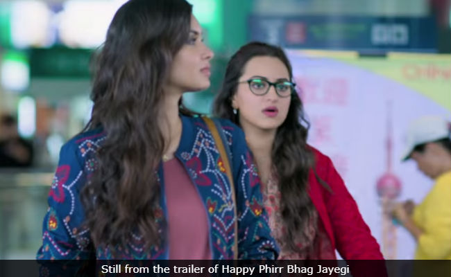 Today's Big Release: Sonakshi Sinha's Happy Phirr Bhag Jayegi