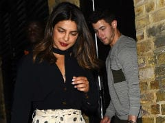 Pics From Priyanka Chopra's Birthday Dinner With Nick Jonas. <I>Isn't It Romantic</i>?