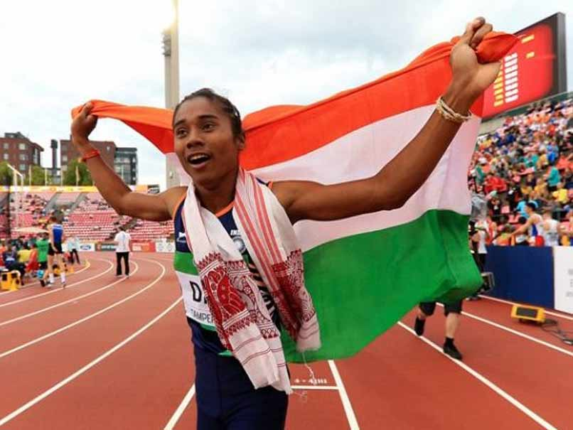 Athlete Hima das was contracted by this leading management company