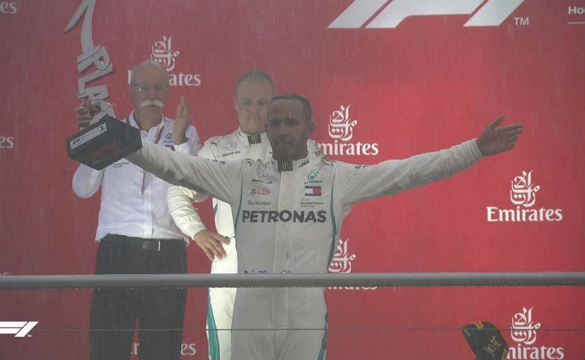 F1: Lewis Hamilton Retakes F1 Lead With 'Miracle' Victory In Germany Grand Prix