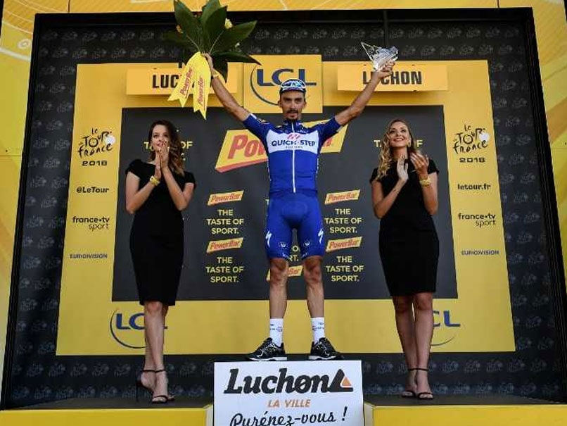 Tour de France: Julian Alaphilippe Wins Stage 16
