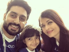 Father's Day: Aishwarya Rai Bachchan's Pics Of Aaradhya And Abhishek Will Leave You Smiling