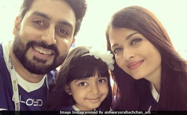 Father's Day: Aishwarya Rai Bachchan's Pics Of Aaradhya And Abhishek Will Leave You Smiling