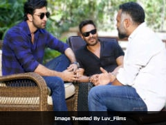 Amidst Ajay Devgn Death Hoax, A Pic Of Him With Ranbir Kapoor And Luv Ranjan Surfaced On The Internet