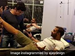 अजय देवगन के दर्द का काजोल ने बनाया मजाक, फैन्स बोले- भाभी ने अच्छी पकड़ बना रखी है