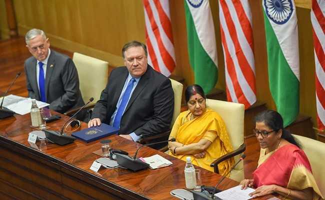 India, US To Set Up Hotline Between Their Foreign, Defence Ministers