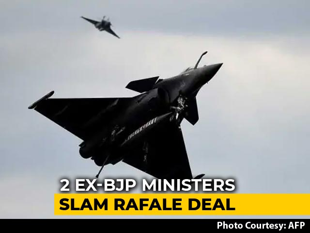 "Video : ""Rafale Scandal Bigger Than Bofors"", Says Arun Shourie. Reliance Responds"
