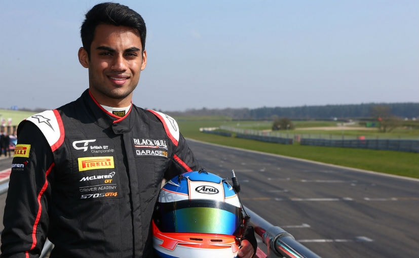 Akhil Rabindra secured his best-ever finish in GT4 European Series