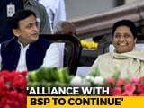 Video : Akhilesh Yadav Says Tie-Up With Mayawati In 2019 Even If It Costs Seats