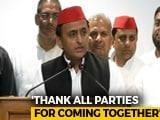 Video : People Of Uttar Pradesh Taught BJP A Lesson: Akhilesh Yadav On Bypoll Results